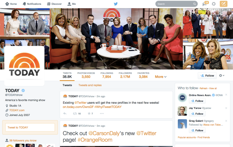 Your new Twitter profile is ready. Here's how to get it now