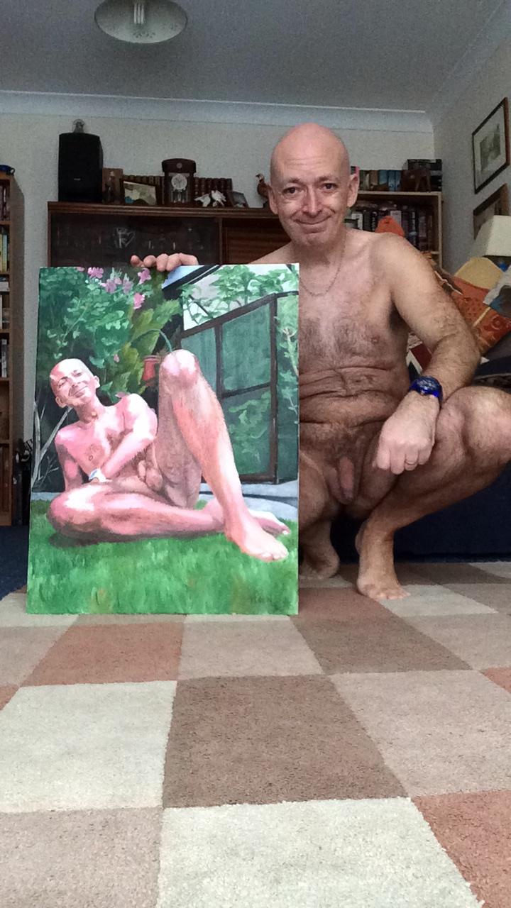 A naturist portrait.