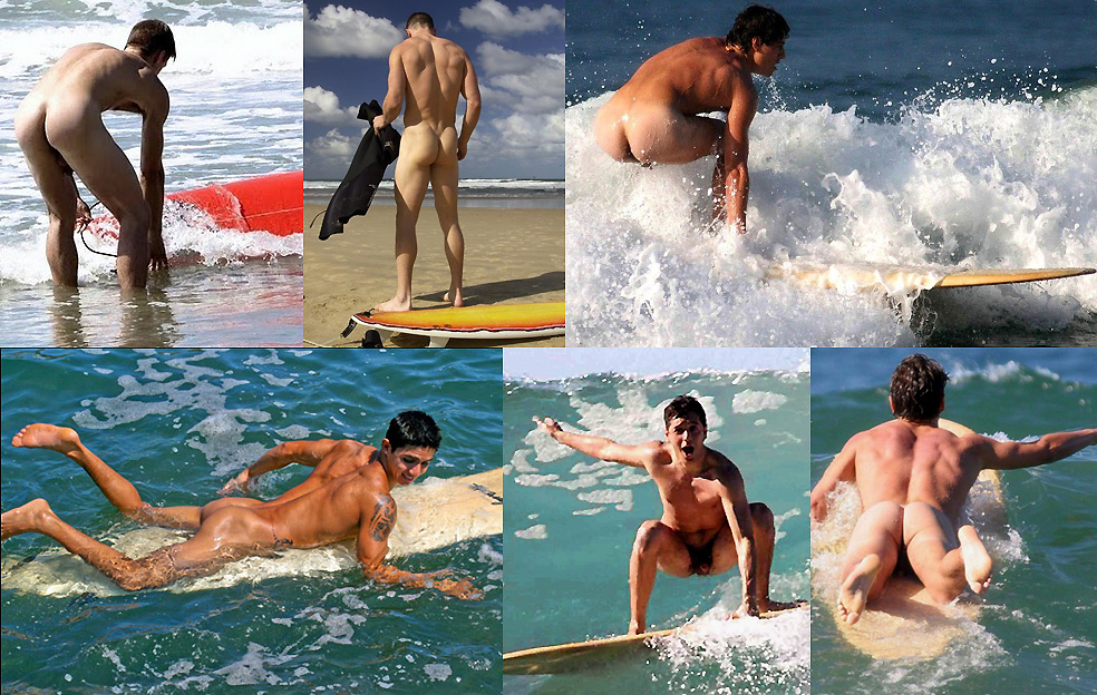 The Thrill of Surfing Naked!