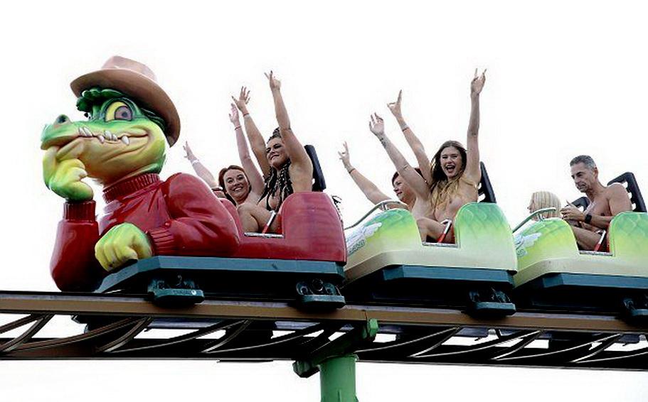 Ross Mcg Naked Rollercoaster Rider