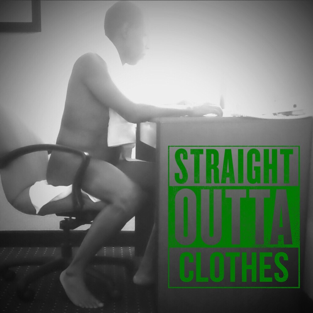 Straight outta clothes photo challenge February